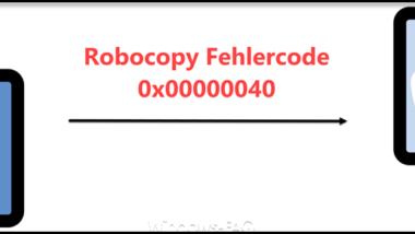 Robocopy Fehlercode 0x00000040 beim Kopieren von Dateien und Ordnern mit Umlauten
