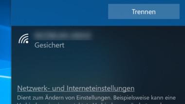 Reihenfolge der WLAN Netze festlegen unter Windows 10