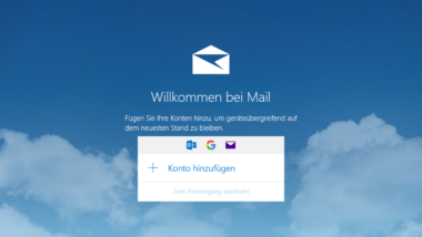GMail Konto in die  Windows 10 Mail App integrieren