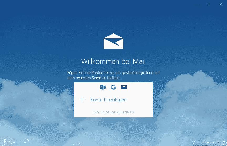 Willkommen bei Mail
