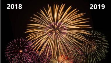 Windows-FAQ sagt Danke für 2018 und wünscht ein frohes neues Jahr 2019