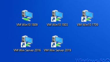 Desktop-Verknüpfungen zu Hyper-V VMs erstellen