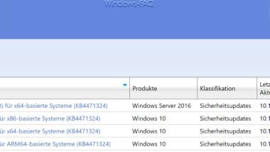 Download Update KB4471324 für Windows 10 Version 1803 Build 17134.471