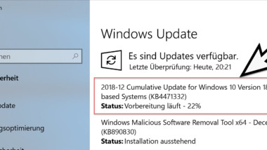 Update KB4471332 für Windows 10 Version 1809 Build 17763.194