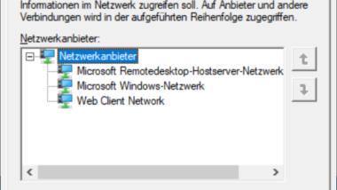 Reihenfolge der Netzwerkverbindungen festlegen bei Windows 10