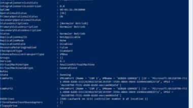 Hyper-V Informationen zu einer VM abrufen per PowerShell
