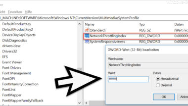Windows Netzwerk beschleunigen – bessere Latenzzeiten für Gamer