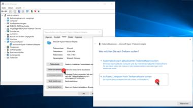 Treiber exportieren und importieren bei Windows