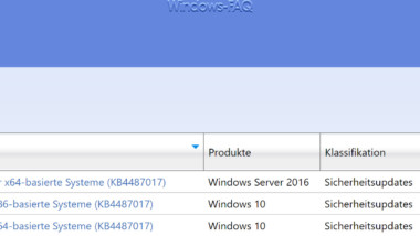 Download Update KB4487017 für Windows 10 Version 1803 Build 17134.590