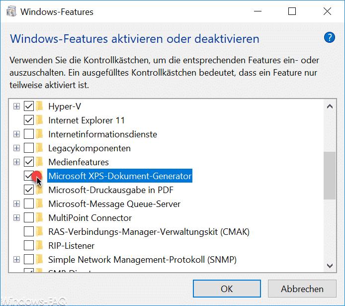 Microsoft XPS Dokument Generator