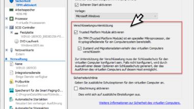 Auf diesem Gerät kann kein TPM verwendet werden… BitLocker unter Hyper-V nutzen