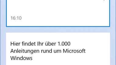 """Inhalt der Windows Zwischenablage einsehen mit der Tastenkombination Windows-Taste + """"V"""""""
