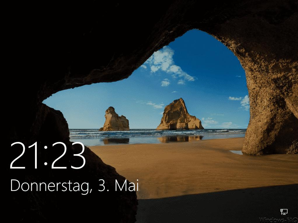 Windows 10 Sperrbildschirm