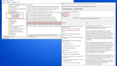 Windows Firewall eingehende Remotedesktop Anfragen zulassen per GPO