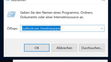 """Fehler """"Microsoft Outlook kann nicht gestartet werden"""" beheben"""