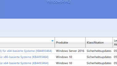 Update KB4493464 für Windows 10 Version 1803 verfügbar (Buildnummer 17134.706)