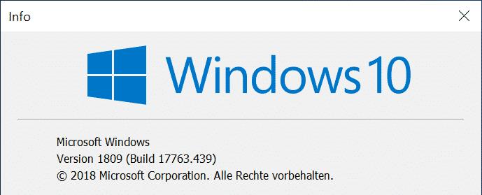 Build 17763.439