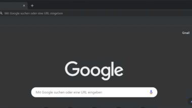Chrome im Dark Modus starten