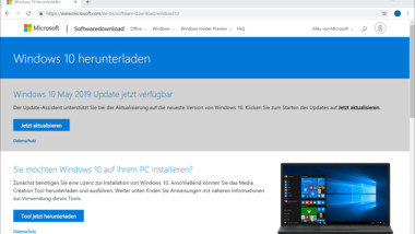 Download Windows 10 Version 1903