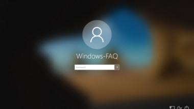 Unscharfen oder verschwommenen Windows 10 Anmeldebildschirm wieder scharf darstellen