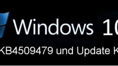 Update KB4509479 (17763.593) für Windows 10 1809 und KB4509478 (17134.860) für 1803 erschienen