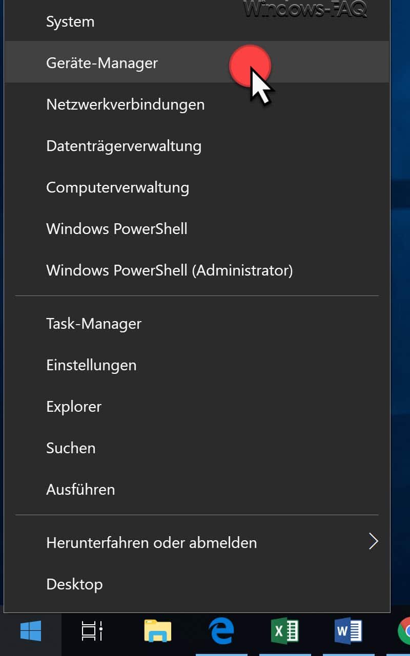 Gerätemanager Windows 10