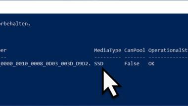 Feststellen, ob eine HDD oder SSD im PC verbaut ist