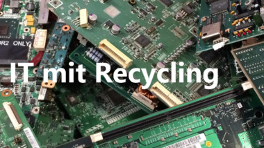 IT mit Recycling