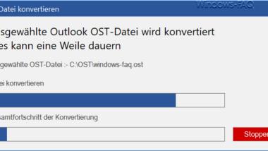 Konvertierung von Outlook OST-Dateien