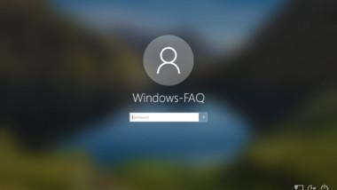 Acryleffekt bzw. weichgezeichneten Windows Anmeldehintergrund per GPO deaktivieren