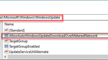 Windows Updates auch über getaktete Verbindungen herunterladen