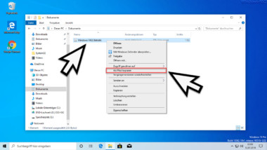Kompletten Pfadnamen und Dateinamen in Zwischenablage kopieren beim Windows Explorer