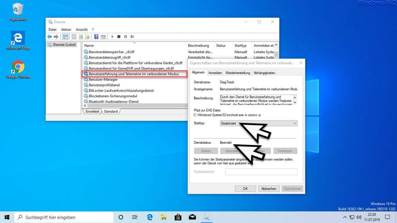 Windows 10 Daten Sammeln Abschalten