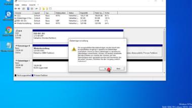 Software Raid 1 (Spiegelung) unter Windows 10 einrichten