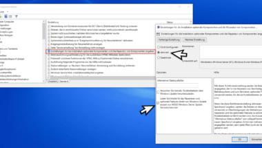Optionale Windows Komponenten oder Apps nicht vom WSUS herunterladen sondern über Windows Update herunterladen