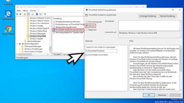 Alle PowerShell Befehle und Ausgaben protokollieren und in Textdateien schreiben