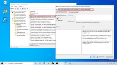 Wie funktioniert Aero Shake bei Windows 10 und wie kann es deaktiviert werden?