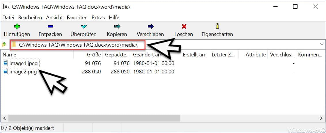Grafiken aus Word Dateien extrahieren