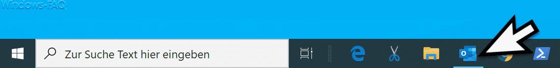 Badges deaktiviert in Windows 10 Taskleiste