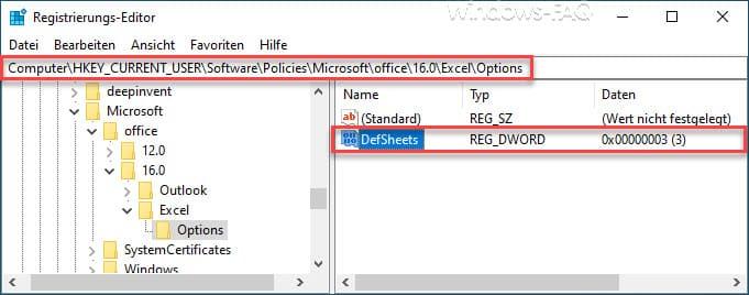 DefSheets Registry Excel