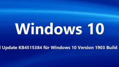 Download Update KB4515384 für Windows 10 Version 1903 Build 18362.356