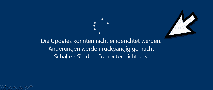 Am Computer Vorgenommene änderungen Werden Rückgängig Gemacht