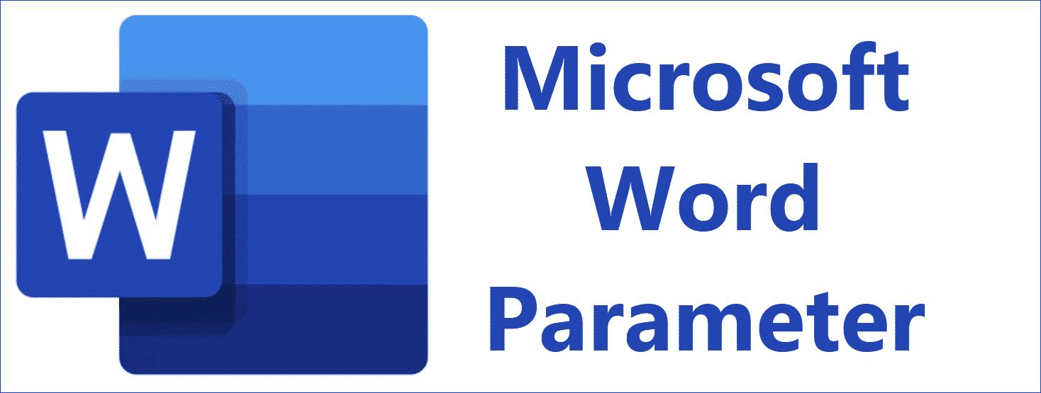 Microsoft Word Parameter
