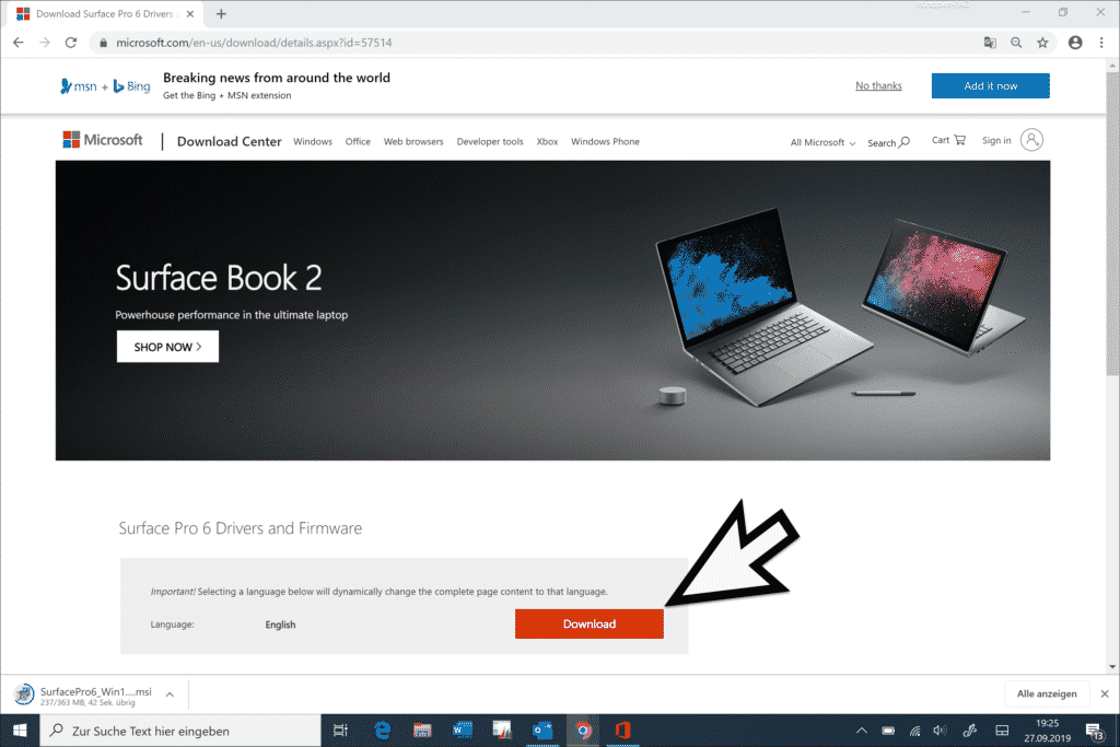 Surface Pro 6 Firmware Download