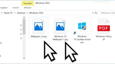 Warum werden nur Symbole anstatt der Bilder im Windows Explorer angezeigt