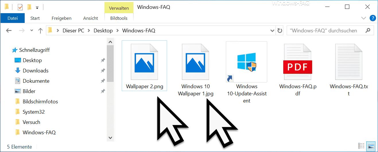 Nur Symbole werden im Windows Explorer angezeigt