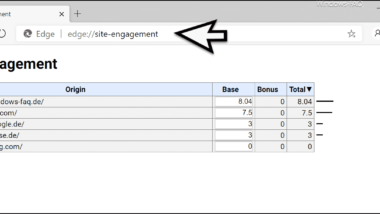 Aufruf Statistiken der aufgerufenen Webseiten in den Chromium Browsern (Chrome, Edge & Opera)