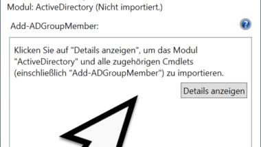 PowerShell Hilfe aktualisieren, Auflistung und Erklärung von PowerShell Befehlen und Parametern