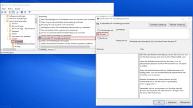 Windows Hello Pin – Da hat etwas nicht geklappt, versuchen Sie es später noch einmal