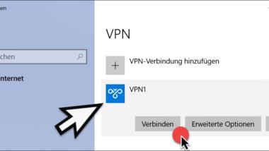 VPN-Verbindung unter Windows 10